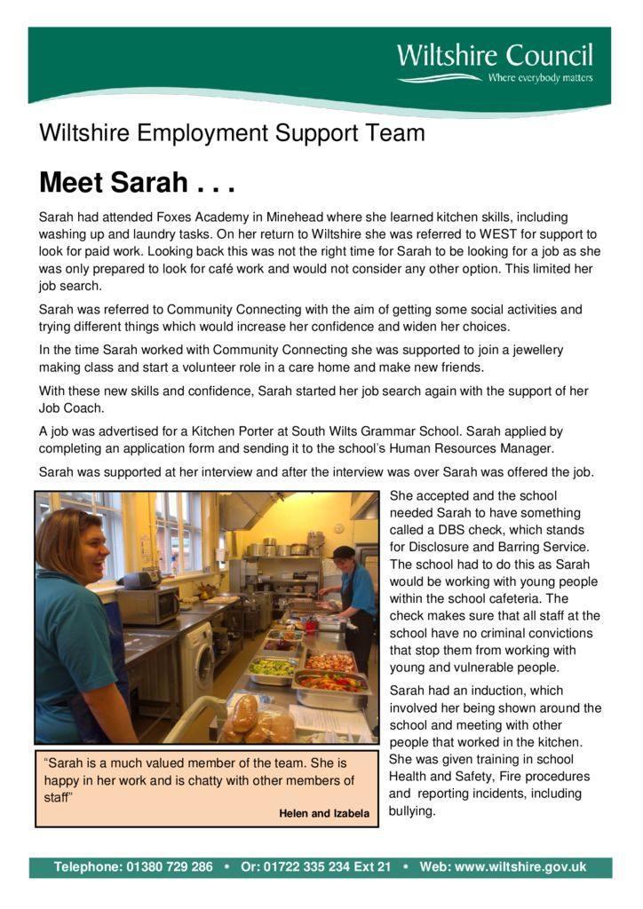 thumbnail of Sarah-WEST