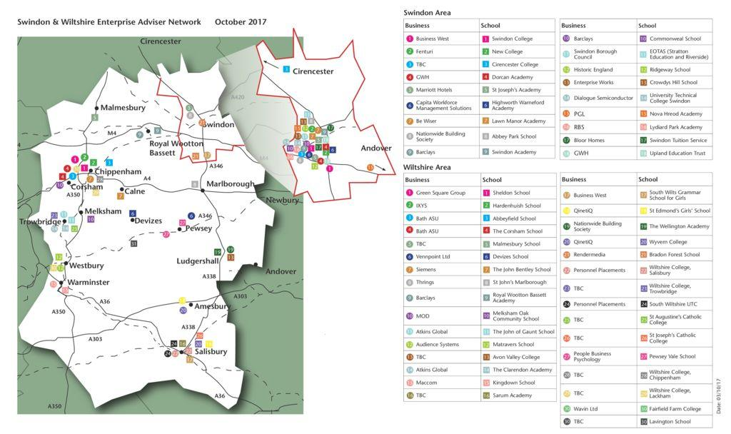 thumbnail of SWEAN Engagement Map October 2017