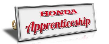 Honda apprenticeship