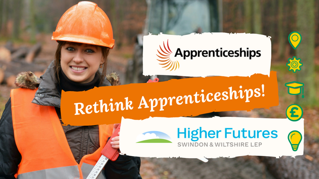 Image of an apprenticeship, rethink apprenticeships