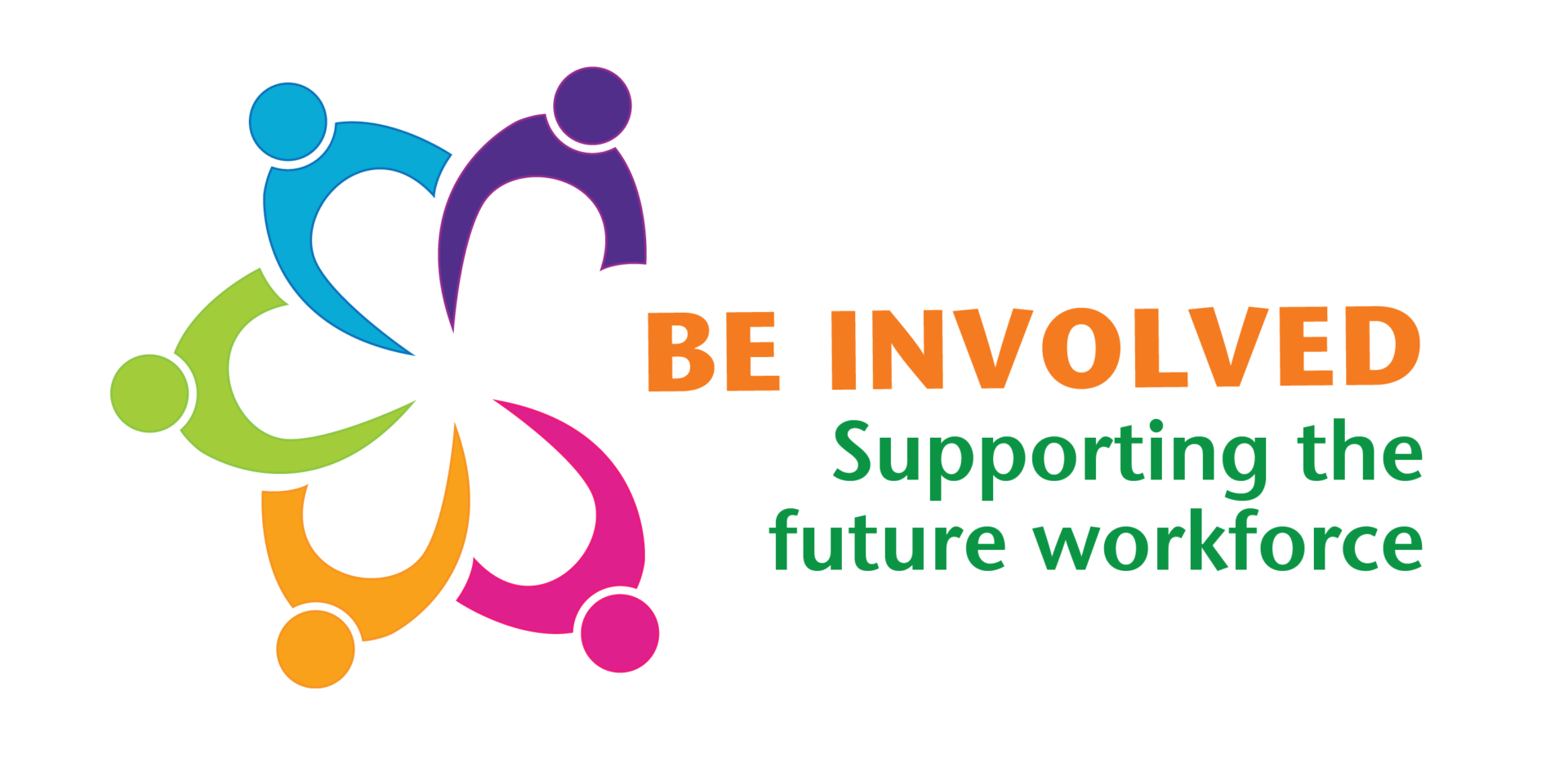 Be Involved logo which says supporting the future workforce