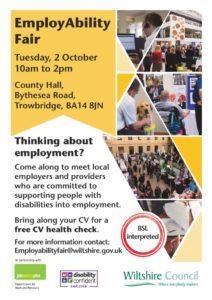 thumbnail of EmployAbility Fair poster EXTERNAL PRINT VERSION ONLY – POTSER 1