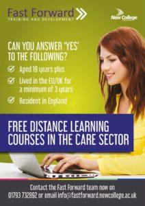 thumbnail of FREE Distance Learning Courses in Care