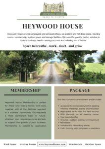 thumbnail of Heywood House Leaflet 2018