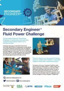 thumbnail of Secondary Engineer Fluid Power Challenge Flyer