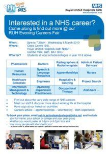 thumbnail of Poster RUH Careers Event 6 March 2019
