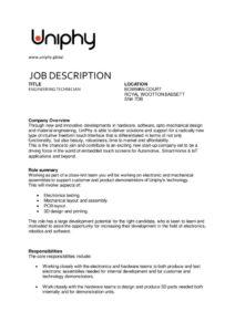 thumbnail of Uniphy-Technician Job Description_30th April