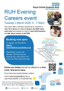 thumbnail of Evening careers event booking poster v2
