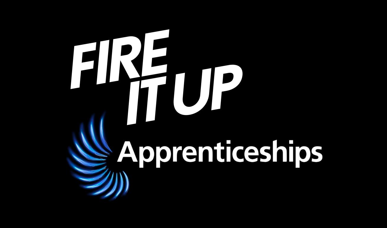Fire It Up Apprenticeship banner