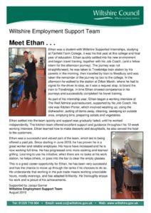 thumbnail of 31 Ethan Hillard WEST Case Study WSI to full time work
