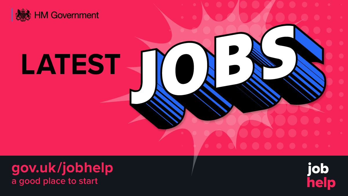 A good place to start for the latest jobs got to www.gov.uk/jobhelp