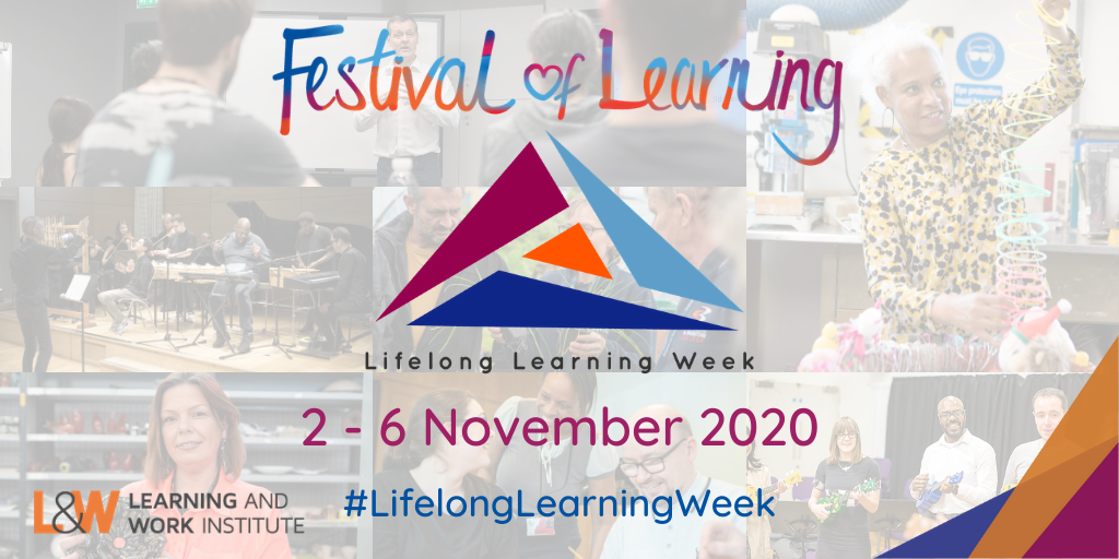 Festival of Learning, Lifelong Learning Week media graphic banner
