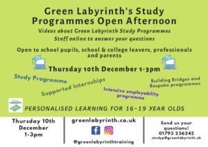 thumbnail of Study Programmes Dec 10th Open Day Invite