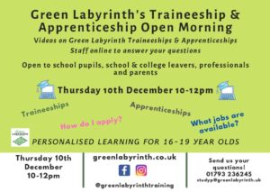 thumbnail of Traineeships Dec 10th Open Day Invite