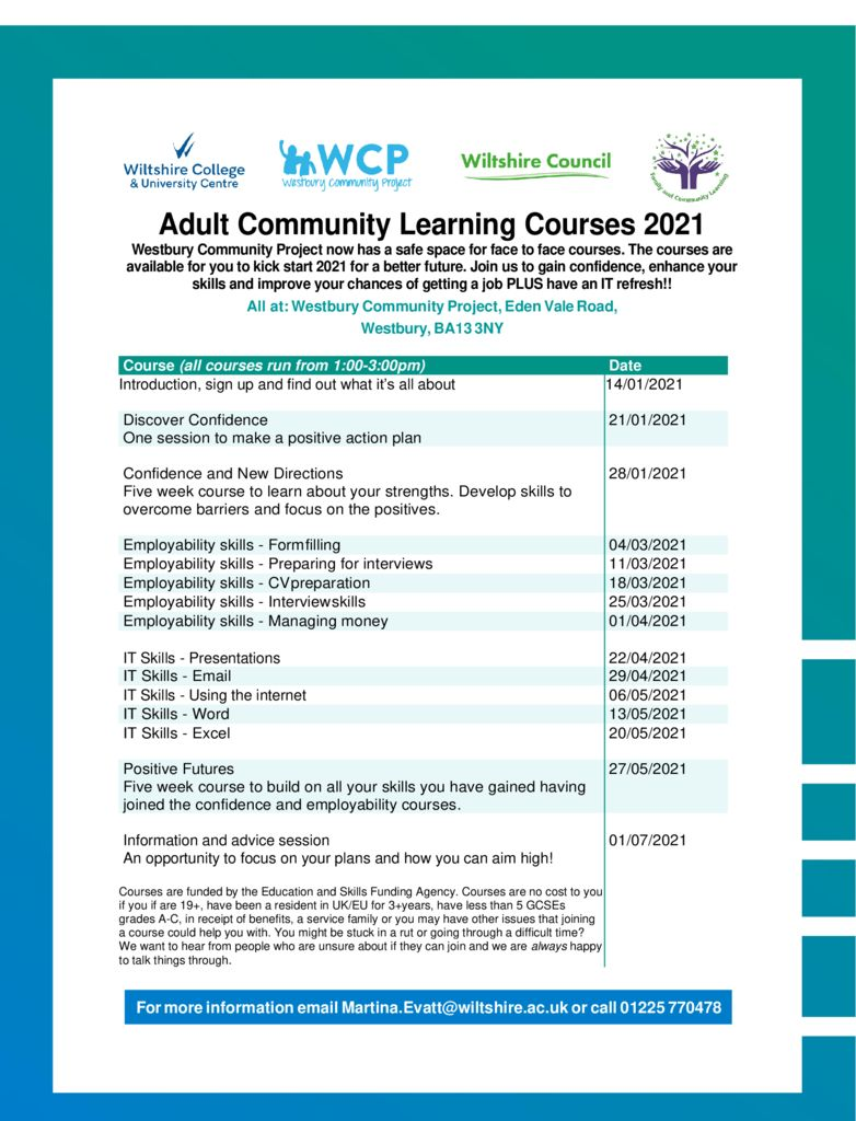 thumbnail of 2021 Adultcommunitylearningcourses – FaCL