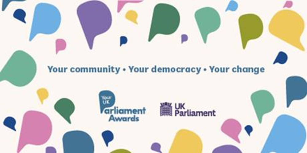 your uk parliament award banner