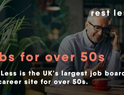 How to find a job in your 50s or 60s