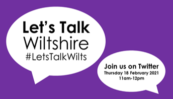 Let's Talk Wiltshire logo