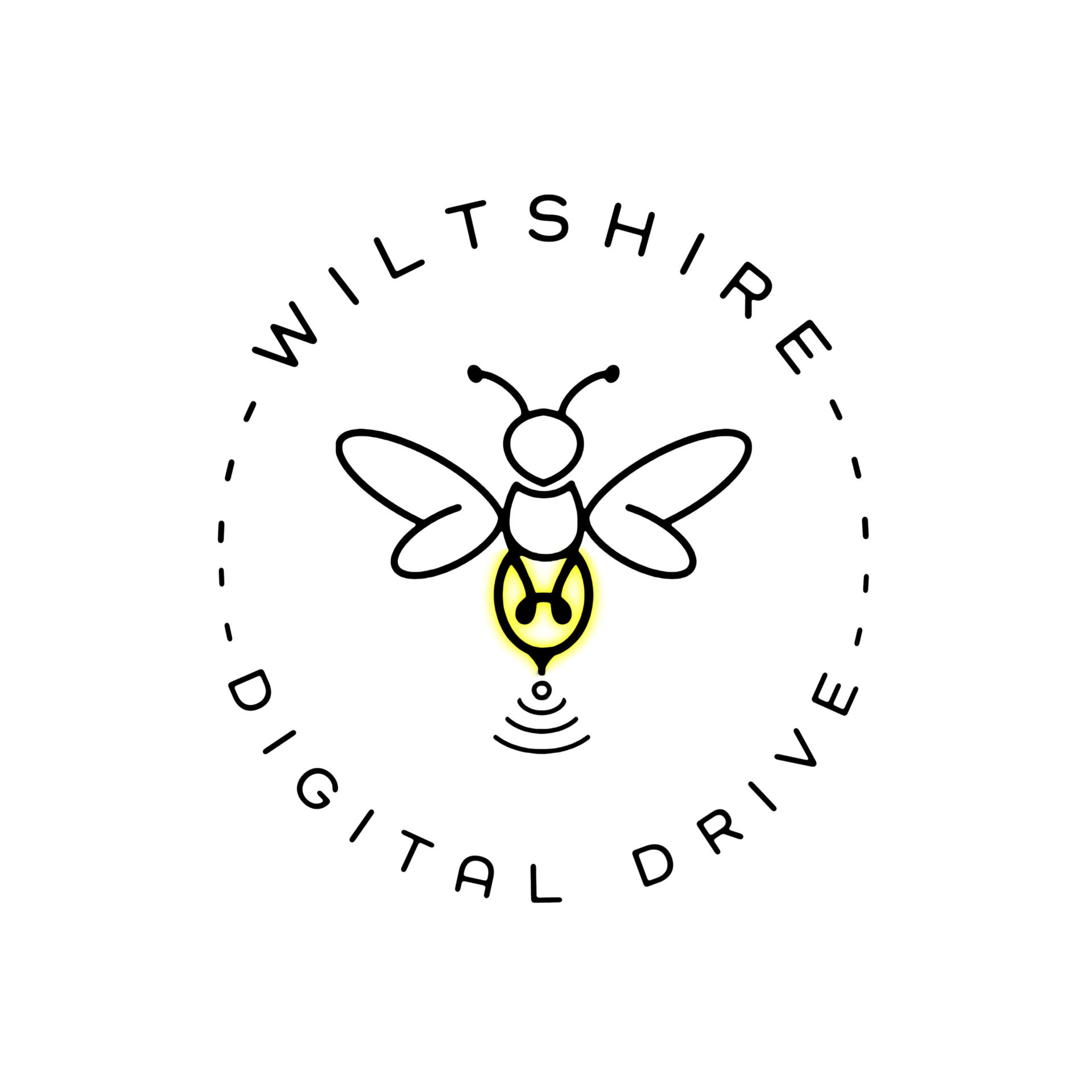 Wiltshire Digital Drive Logo