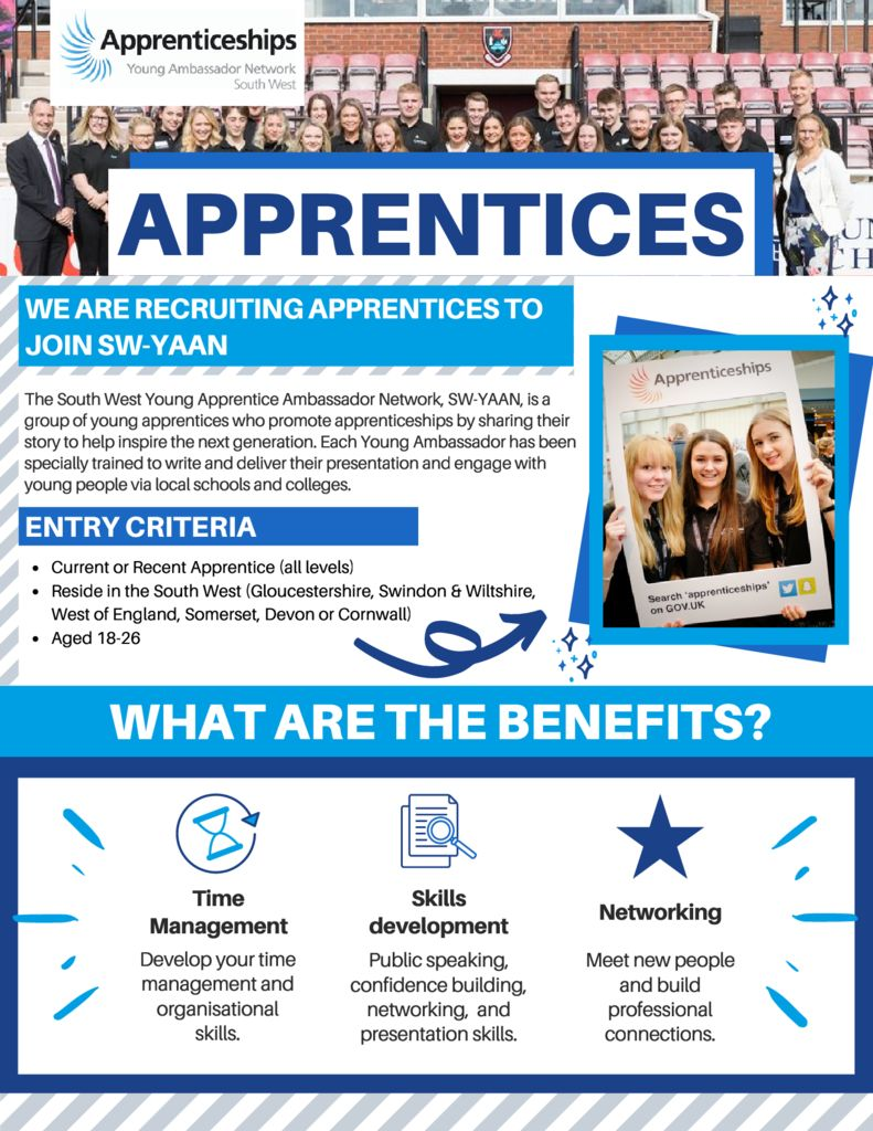 SW-YAAN – Flyer for Apprentices