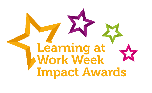 Learning at Work Week logo for awards