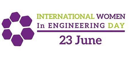 Women In Engineering Day Logo