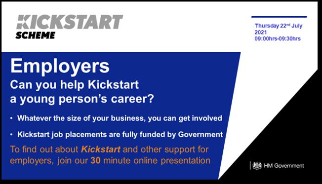 Kickstart Employer Event Poster