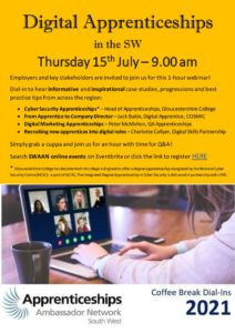 thumbnail of Digital Apprenticeships in the SW – 15.07.2021