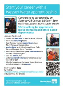 thumbnail of Wessex Water Apprenticeship Open Day 2021